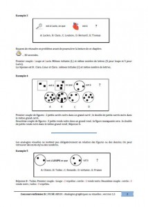 analogies graphiques concours IFSI