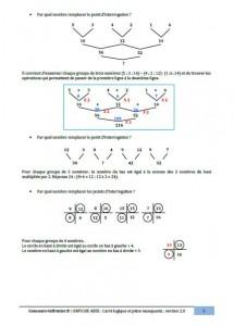carré logique concours IFSI