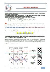 cartes à jouer concours IFSI