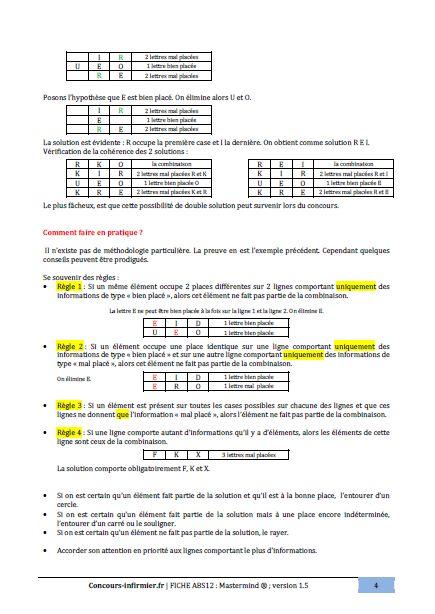 test de raisonnement logique en pdf