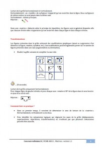 matrices concours IFSI