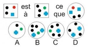 tests psychotechniques gratuits concours infirmier analogie graphique 8