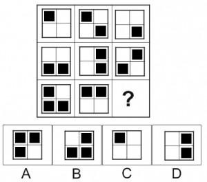 tests psychotechniques gratuits concours infirmier matrices 10